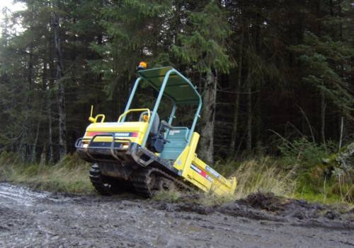 3T TRACKED DUMPERS